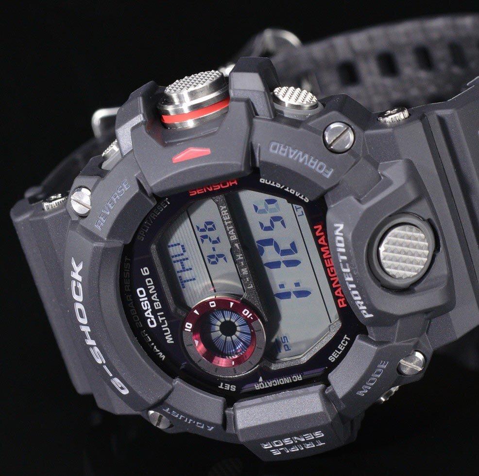 Harga Jual Casio Protrek Prw 3000 1dr Waveceptor Terbaru 2018 3100y Jam Tangan Pria Hitam Buy G Shock Gw 9400 1 Rangeman Black Mens Watch
