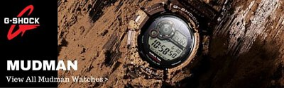 casio gshock mudman watch