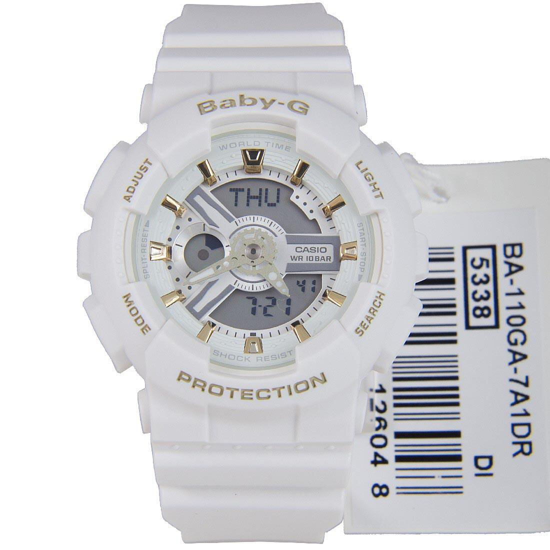 Buy Casio Baby G Ba 110ga 7a1 White X Gold Watch 110sn 3a