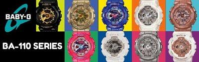 Casio Baby-G BA-110 Series Analog Digital Women Watch