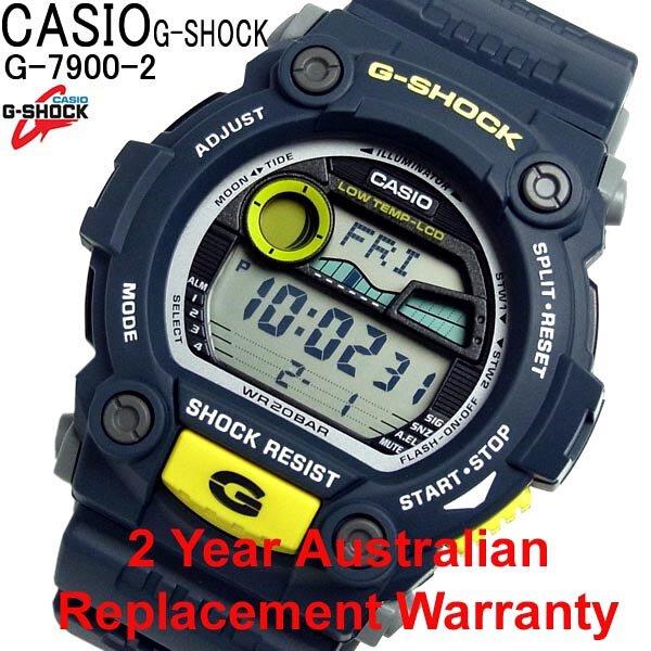 Buy Casio G-Shock G-7900-2 Blue Tide Moon Men s Watch 60a8127f1835b