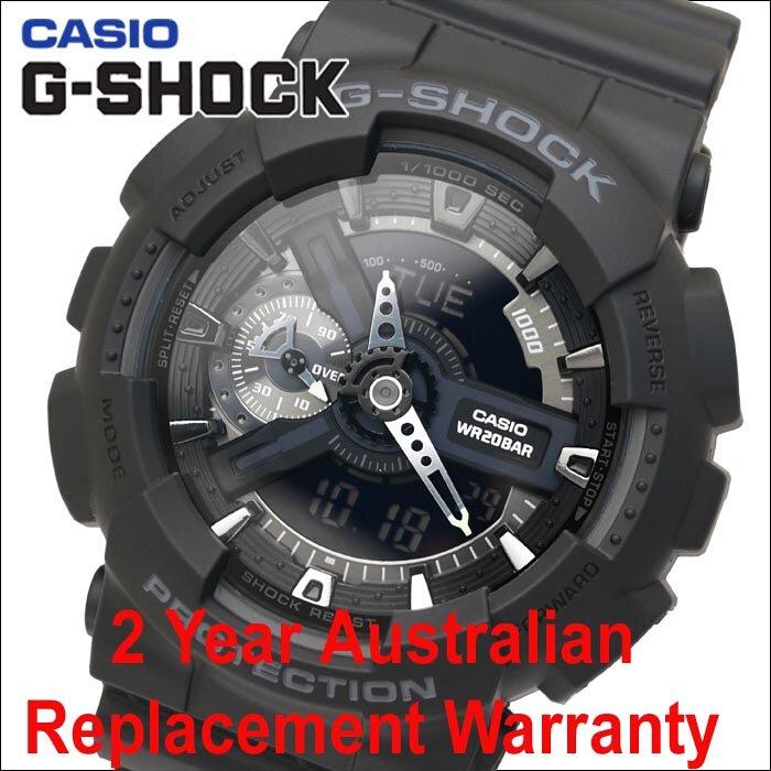 Buy Casio G Shock Ga 110 1b Black Mens Watch