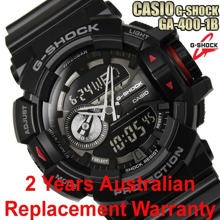 c2e8f9c673c5 Buy Casio G-Shock GA-400-1B All Black Men s Watch