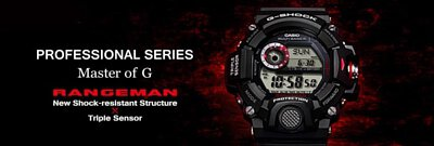 casio gshock rangeman gw9400 solar watch