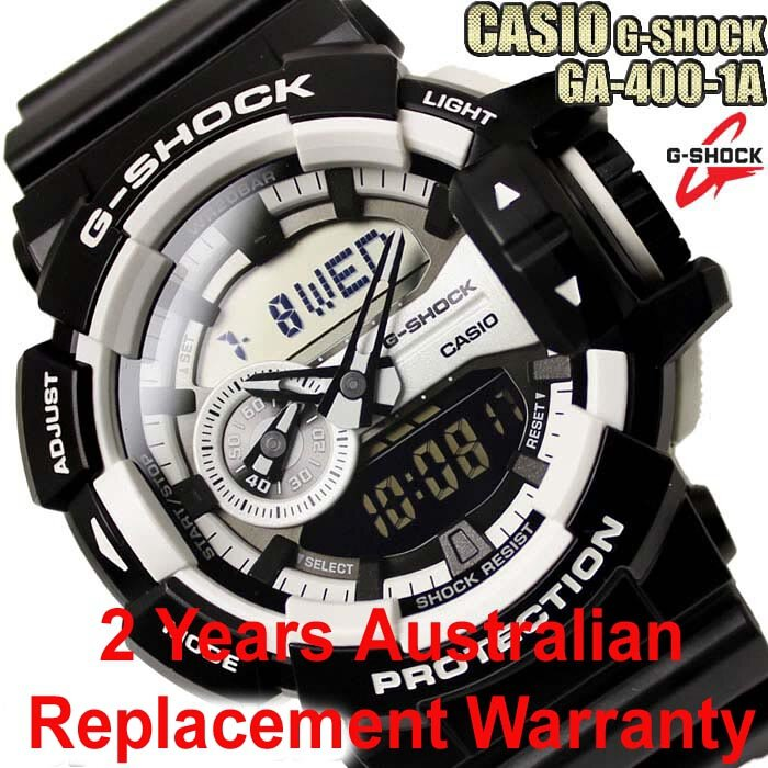 ed824258f Buy Casio G-Shock GA-400-1A Black x White Men s Watch