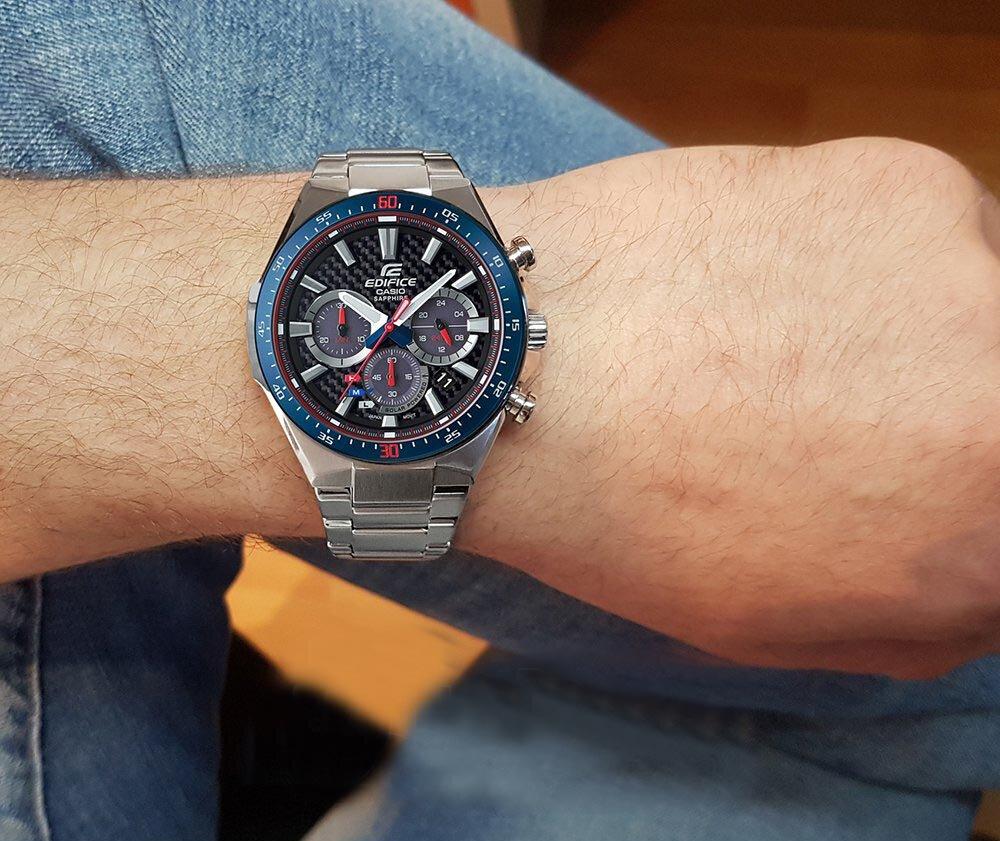 4a9a61e48fa2 Buy Casio Edifice EFS-S520TR-1A Toro Rossa Limit Watch