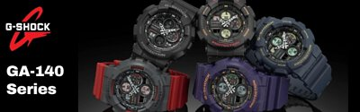 gshock analog digital men watch ga-140 series