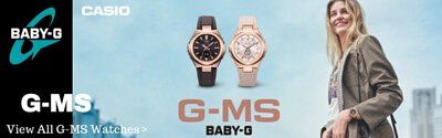 Baby-G G-MS Analog Digital Women's Watch