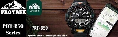 Casio PROTREK Quad Sensor Smartphone Link Bluetooth Men Watch
