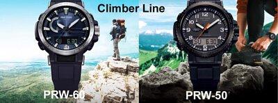 Casio PROTREK Climber Line Triple Sensor Solar Wave Ceptor Multiband-6 Men Watch