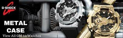 Casio G-Shock Analog Digital Metal Case Men Watch GM-110 Series