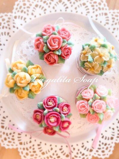 特別的禮物,韓式裱花,手工皂,禮物