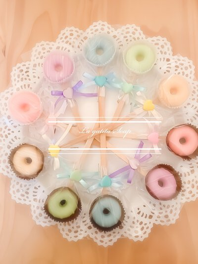 甜甜圈手工皂,婚禮小物