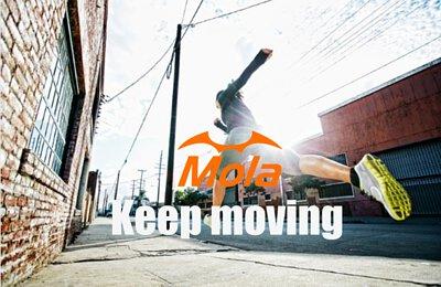 摩拉太陽眼鏡 持續向前  keep moving