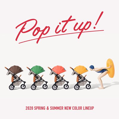 airbuggy嬰兒推車2020春夏限定款概念圖