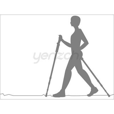 使用健走杖好處:增加平衡感