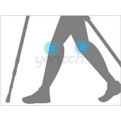 使用健走杖好處:支撐減緩壓力