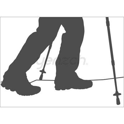 使用登山杖的好處:防滑穩固安全