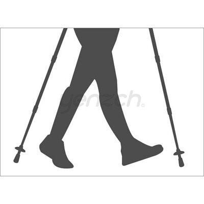 使用登山杖的好處:提高速度與耐力