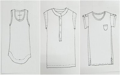 竹節棉TEE STUDY T恤研究室