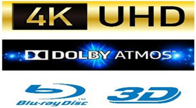 4K Ultra HD UHD Blu-ray
