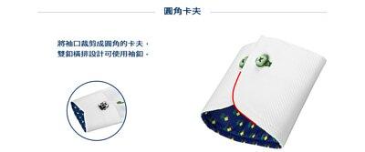 商務襯衫(西裝襯衫或短袖襯衫)襯衫版型袖口圓角卡夫說明圖