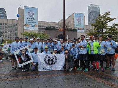 衣十五商務襯衫參加台北馬拉松