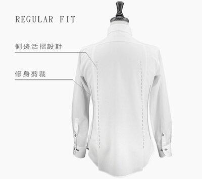 商務襯衫類訂製襯衫標準版版型人檯圖