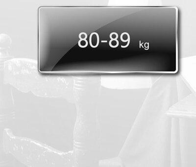 身高185至189公分,體重80至89公斤,尺寸建議表