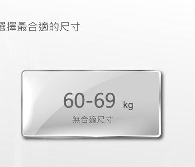 身高185至189公分,體重60至69公斤,無合適尺寸