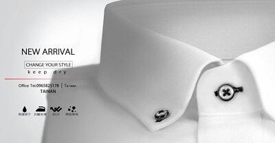 最經典的白色商務襯衫