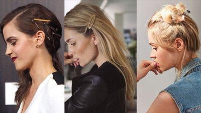 金屬髮夾造型