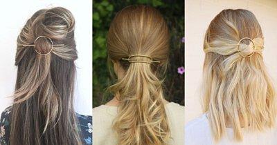 金屬髮夾,金屬髮叉,髮夾,髮飾,馬尾