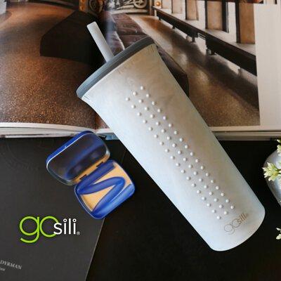 環保杯,矽膠杯,gosili,防漏,環保,環保吸管,矽膠吸管