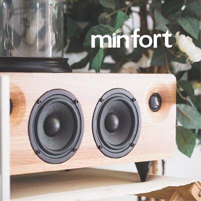 MINFORT,音響,黑膠音響,實木風扇