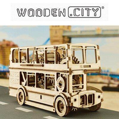 WOODEN CITY,動力模型,地圖