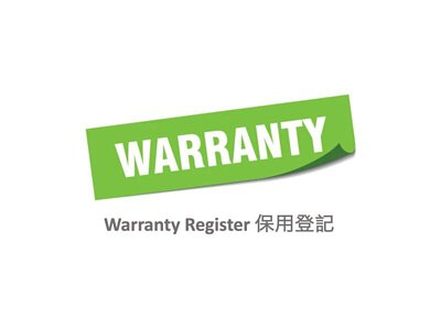 Warranty policy and register