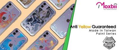 Moxbii Anti yellow military case paint series