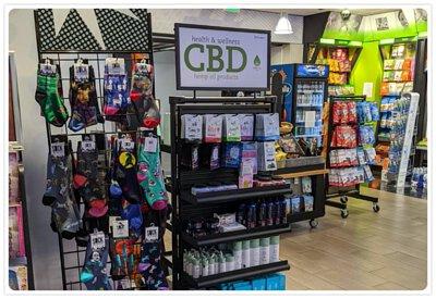 美國西雅圖機場的 CBD 食品