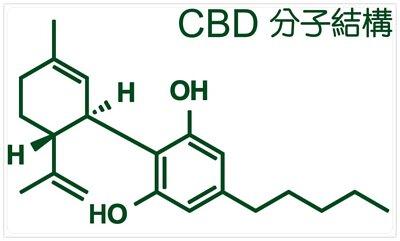 CBD 分子結構