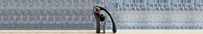 Lever corkscrew Oenomotion black