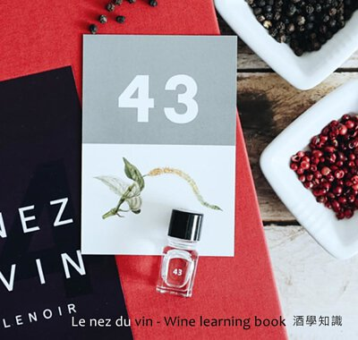 Le Nez du Vin books and kit to learn how to identify the wines aromas