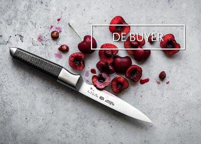 de Buyer Fiber Karbon range of chef knives, best of French and Japanase cutlery arts