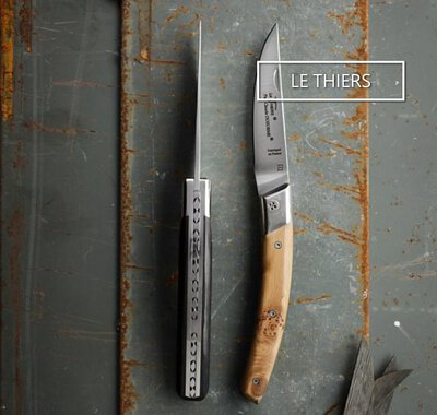 Le Thiers Steak knives, cousin of Laguiole, by Master cutler Claude Dozorme