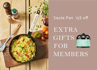 de Buyer Choc B Bois nonstick saute pan 15% off, and free gift for members