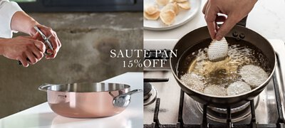 All May Mother's day! de Buyer saute pans 15% off - #iron, #nonstick, #copper, #st/steel