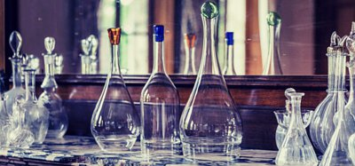 Mouth blown decanters