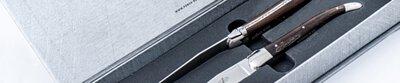Forge de Laguiole,Laguiole,handmade,steak knife,table knife,horn,wood,precious woods,France,cutlery,原廠,法國製造,法式,設計,質感,珍貴,珍稀,原木