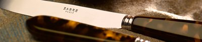 Sabre,Paris,Tortoise,tableware,knife,fork,spoon,dinner,flatware,dinning,serving,table, 餐刀,餐叉,咖啡匙,茶匙,點心叉,牛排刀,刀,叉,匙,小酒館,壓克力握柄,不