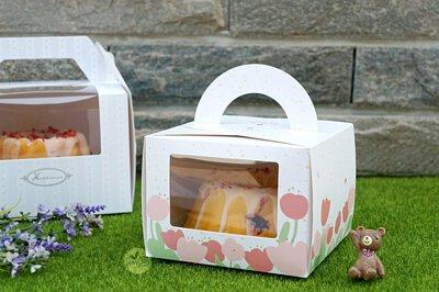 生日蛋糕 蛋糕盒 草莓蛋糕 手提盒 透明蛋糕盒